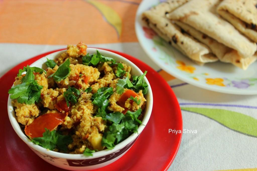 Paneer Bhurji Recipe