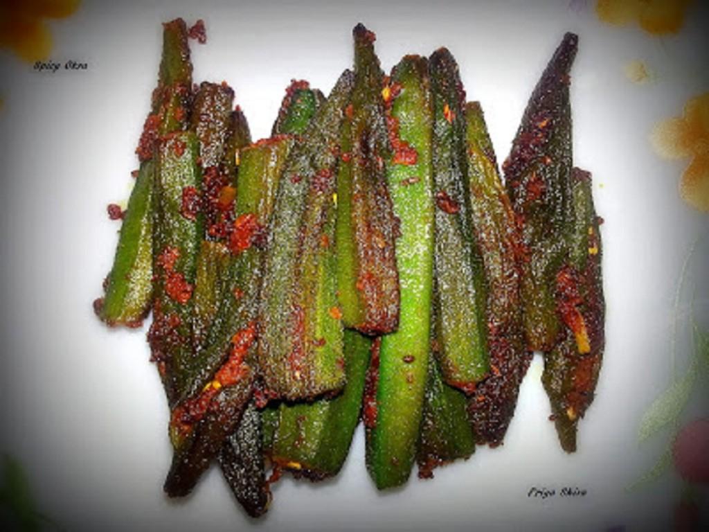 Spicy Okra Stir Fry
