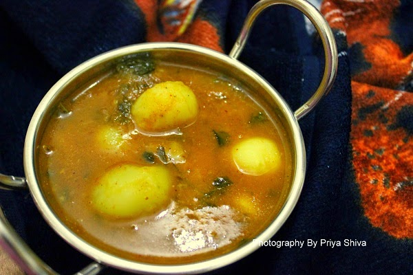 Baby Potatoes Curry