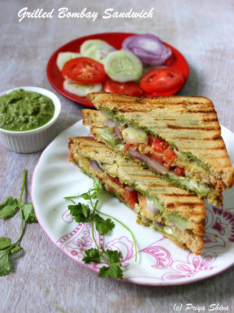 Grilled Bombay Sandwich Recipe