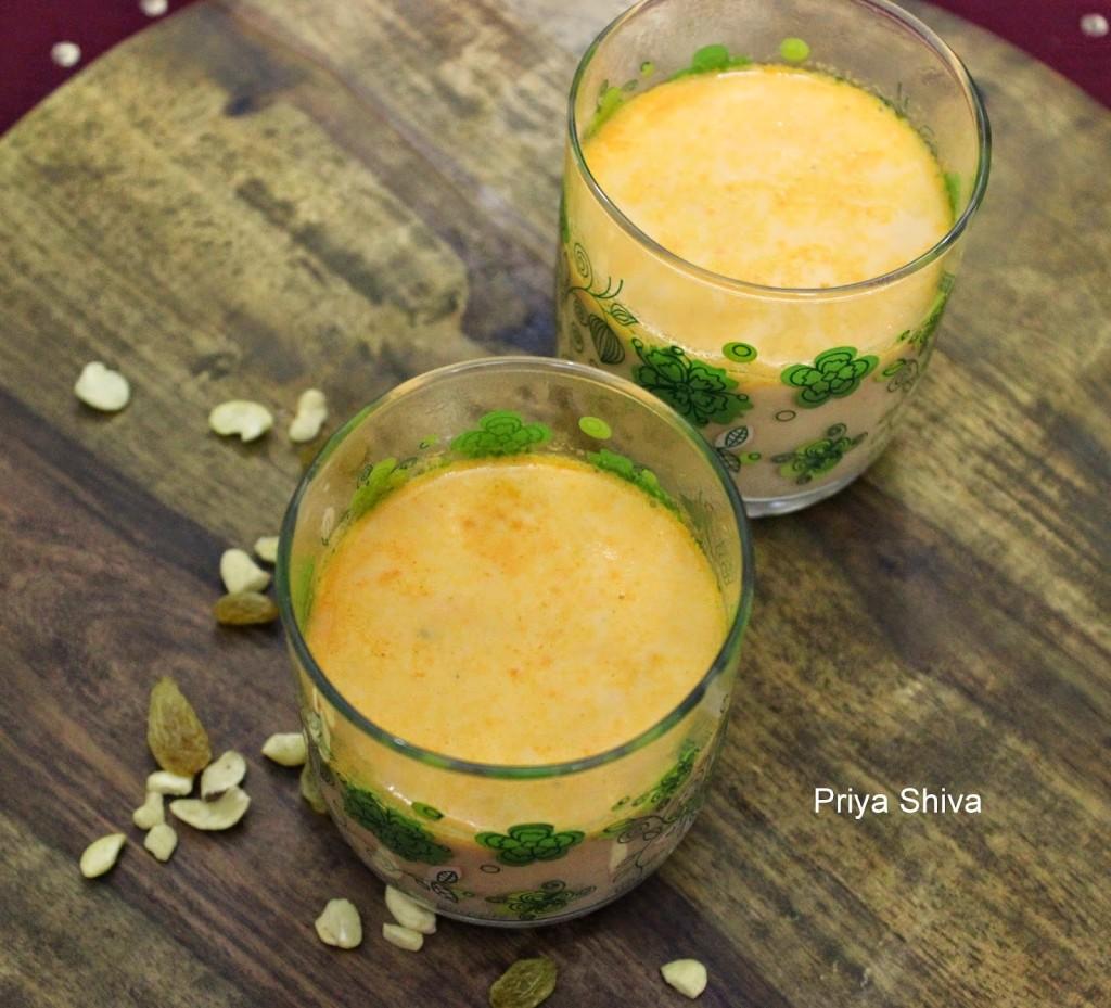 Carrot Payasam/Gajar ki Kheer