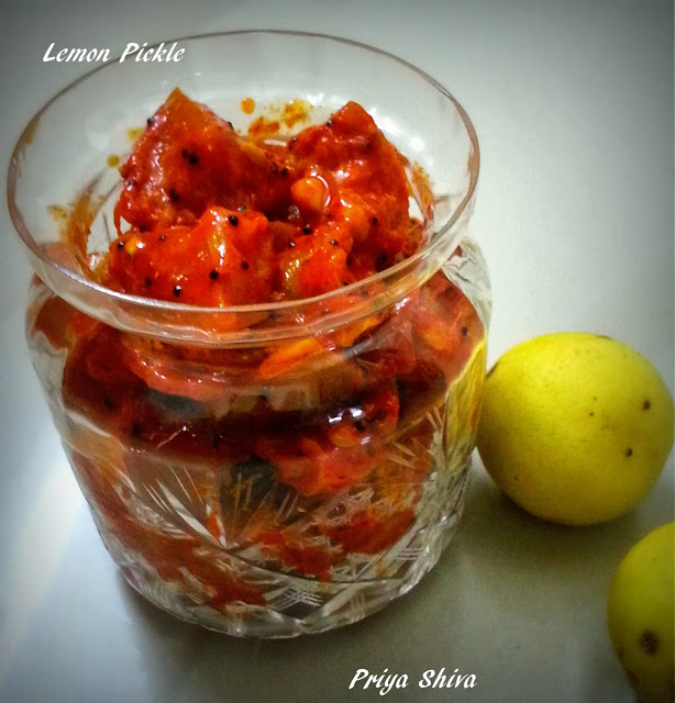 Lemon Pickle Recipe