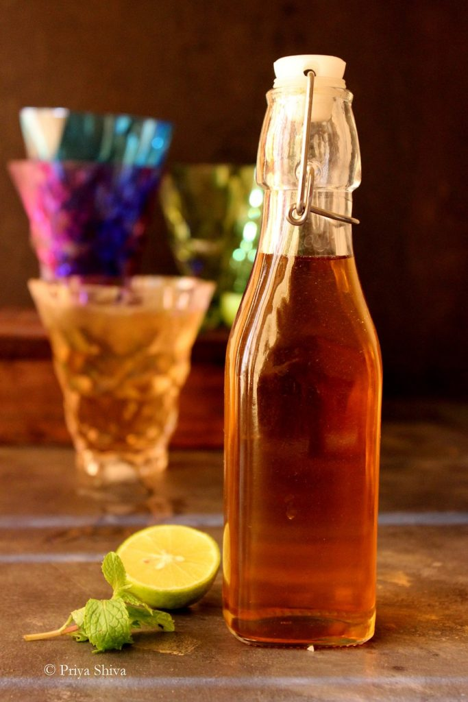How To Prepare Nannari Syrup