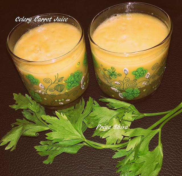 Celery Carrot Juice