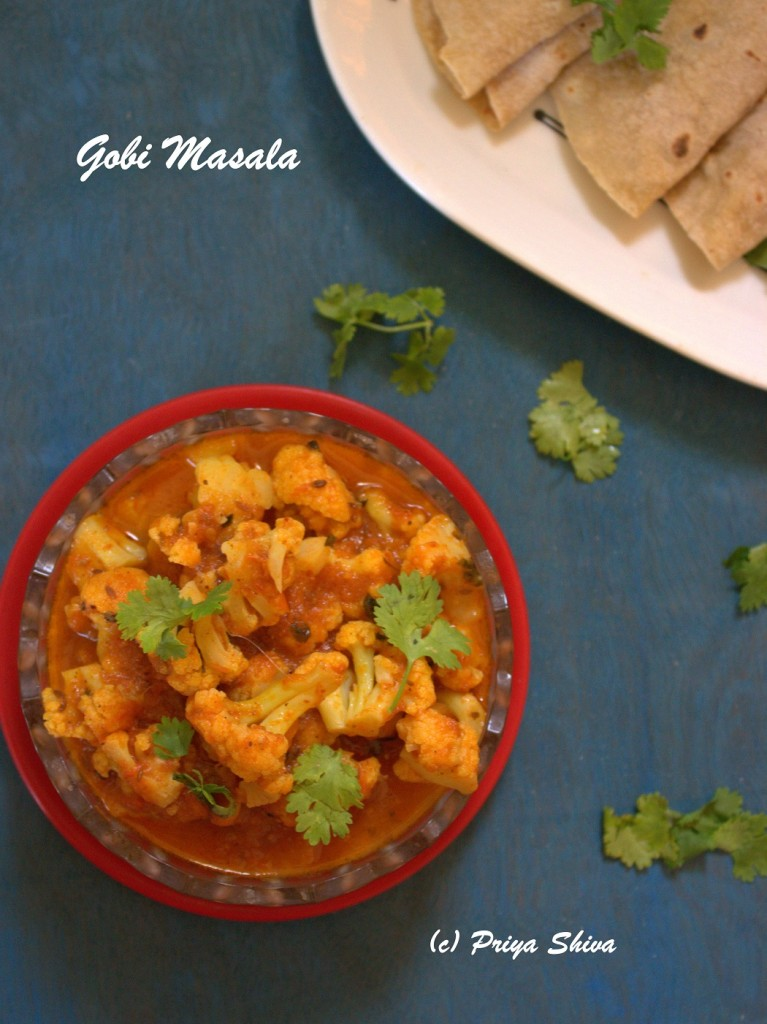 gobi masala curry