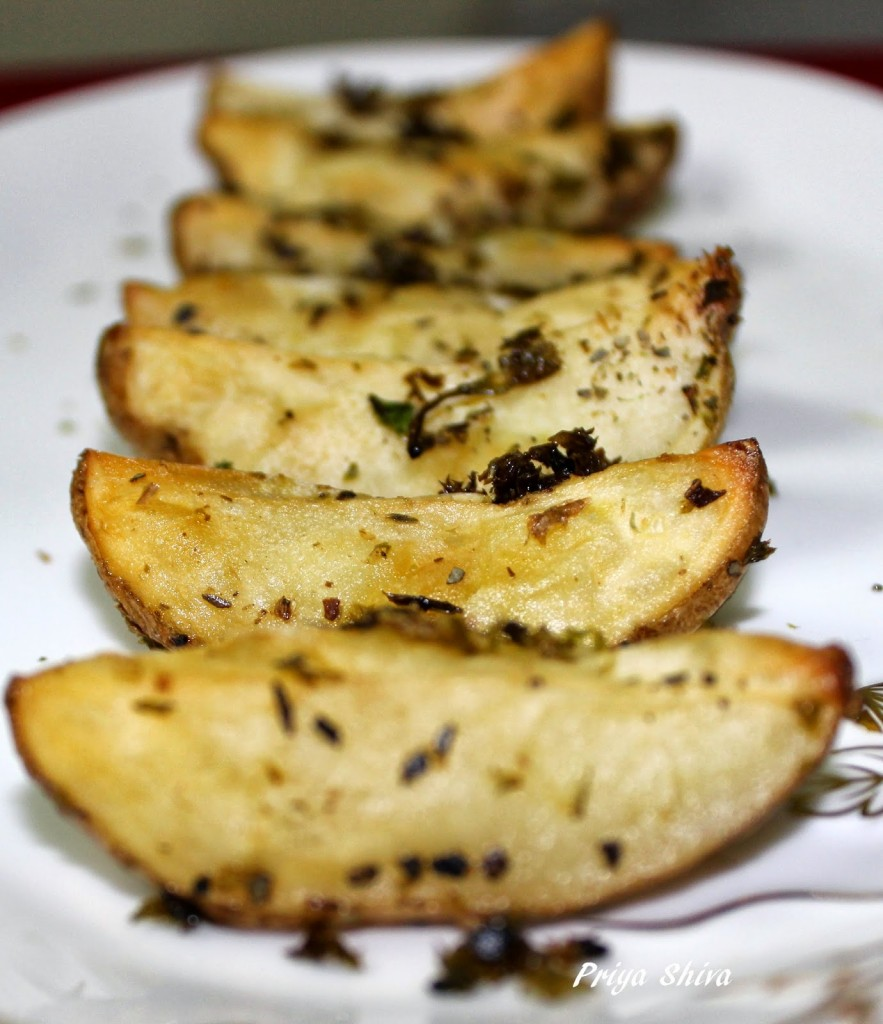 Baked Parsley Potatoes