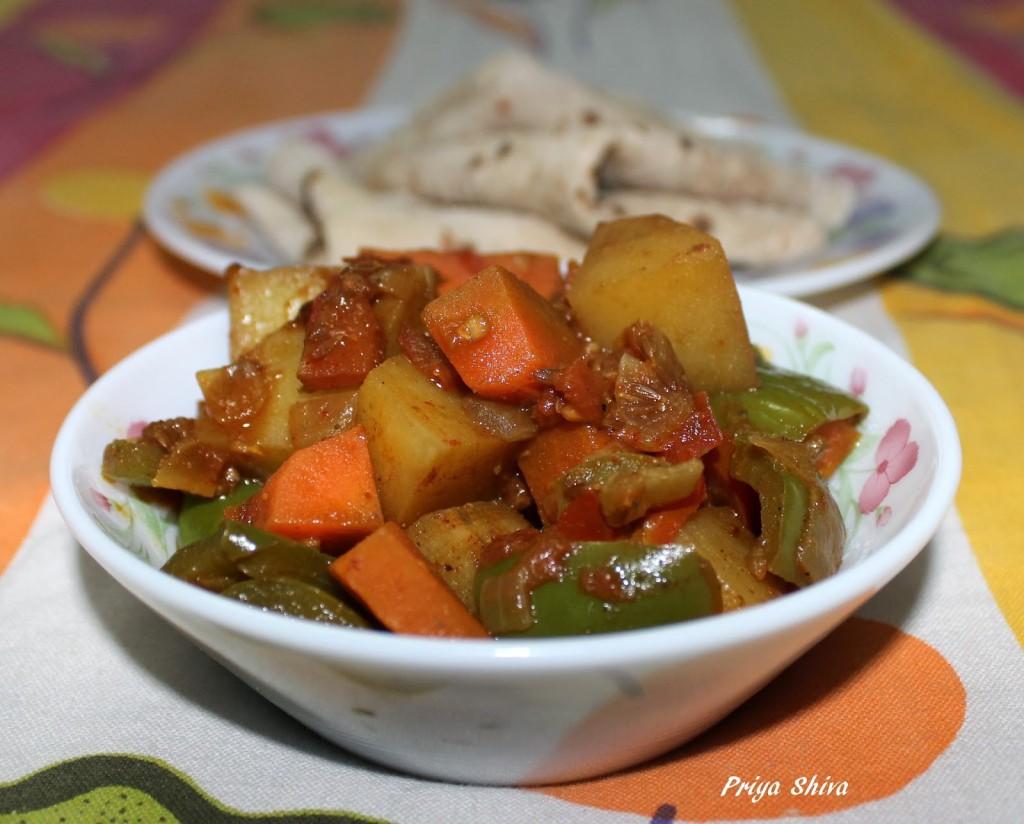 Mix vegetable Stir fry