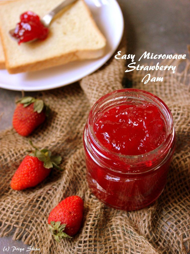 Easy Microwave Strawberry Jam