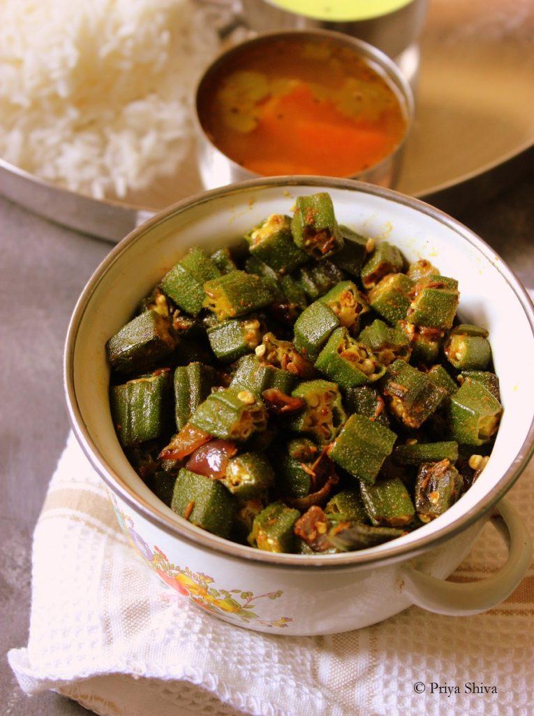 Bhindi Ki Sabzi / Okra Stir Fry