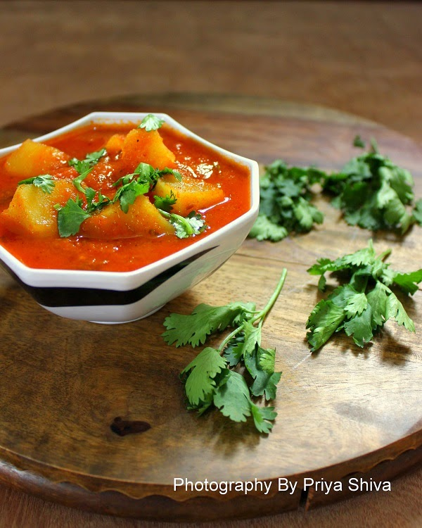 aloo sabzi, potato curry, curry recipe