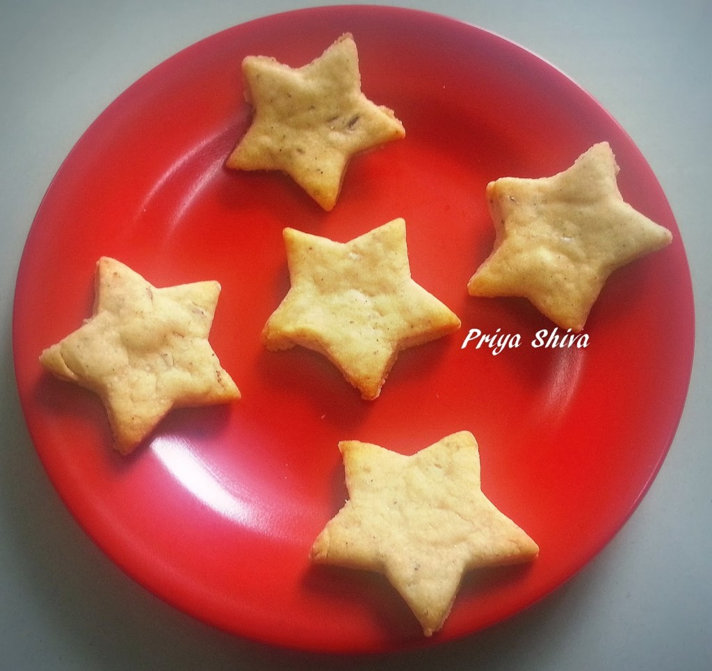 Low Fat Cumin Cookies Recipe
