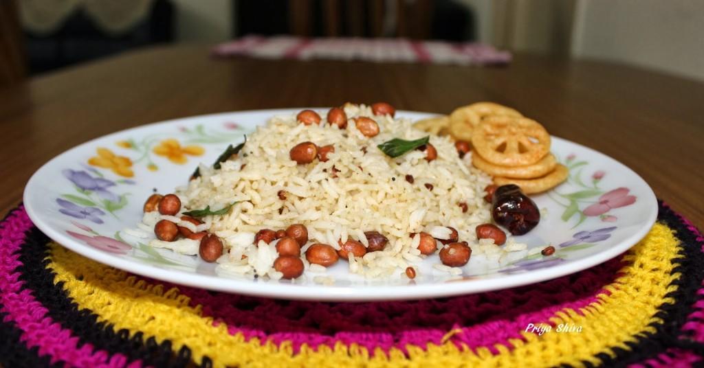 Spicy Peanut Rice