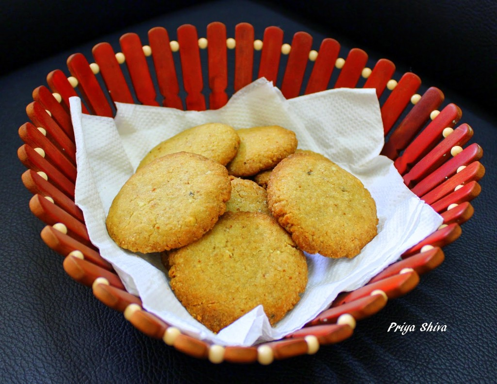 Wholemeal-Almond Biscuits Recipe — Dishmaps