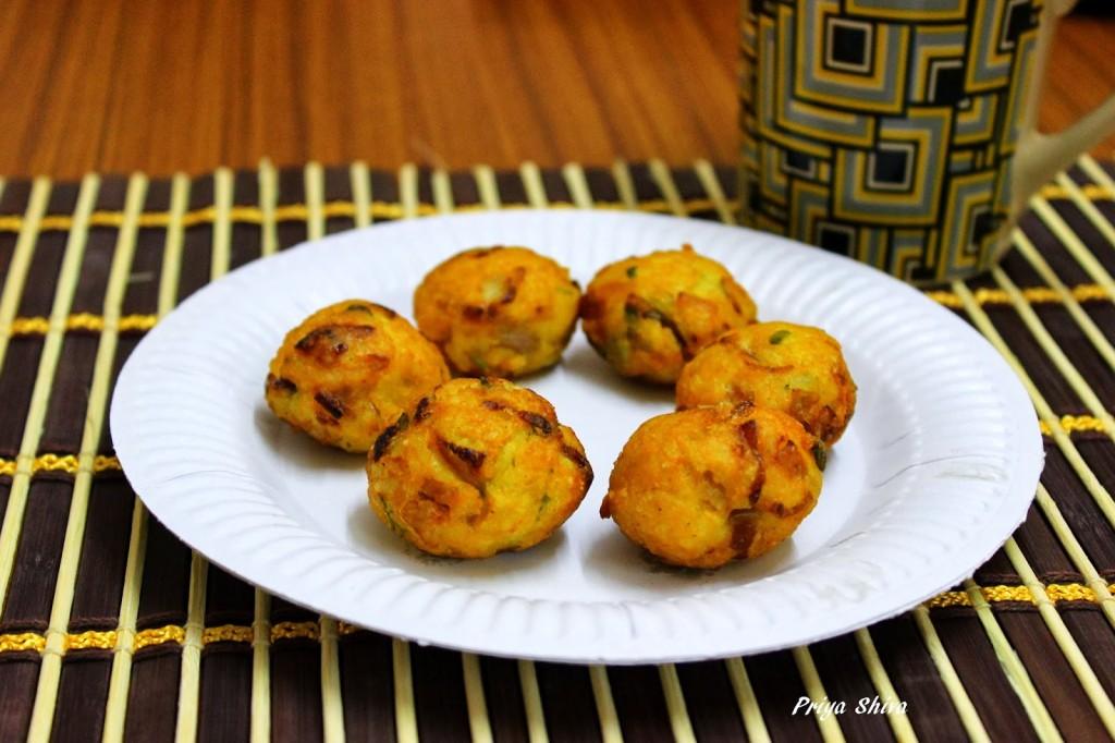 Leftover Rice balls / Rice paniyaram