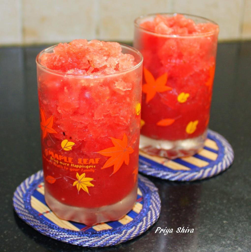 Orange Watermelon Crush