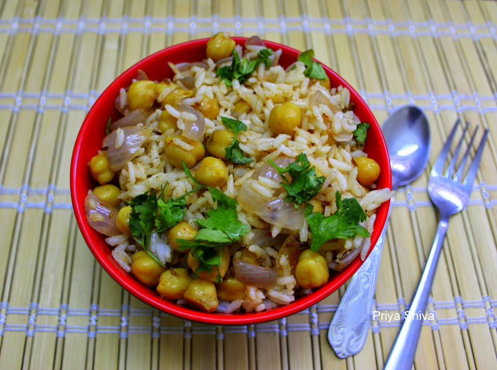 Chickpeas Rice