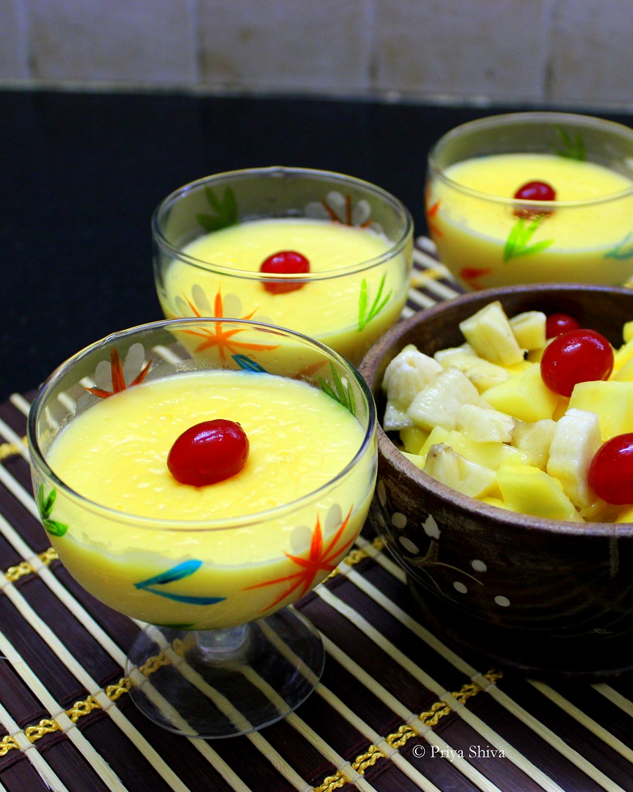 Vanilla Custard Pudding recipe