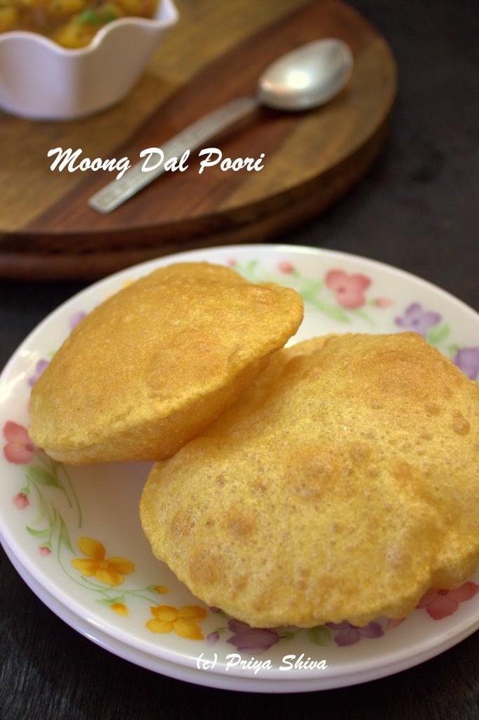 Moong Dal Poori / Moong Dal Puri
