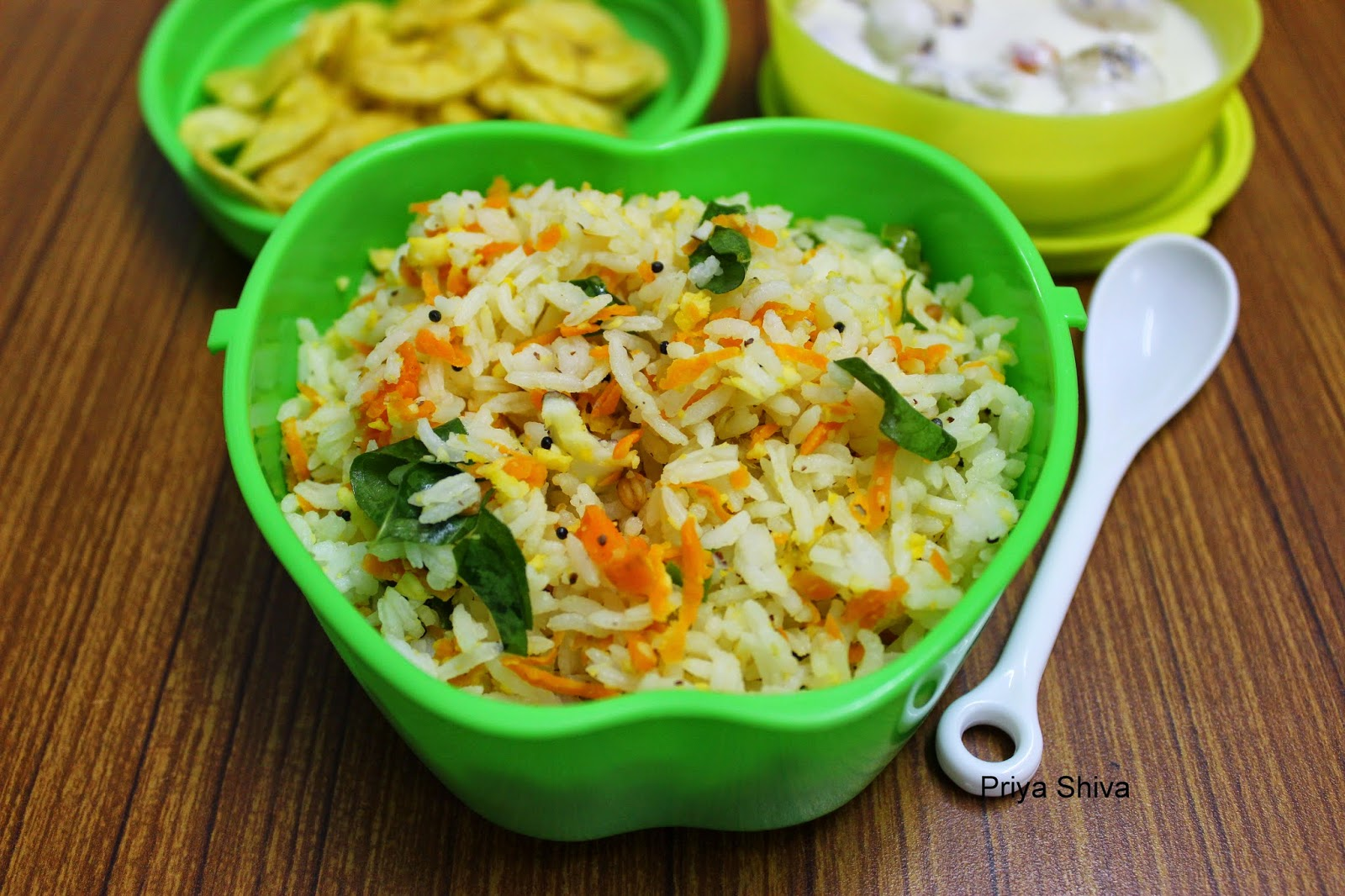 5 Indian style Vegan Recipes Created By Award Winning Priya Shiva-Carrot-Rice