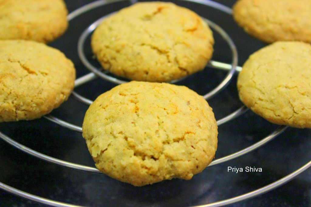 Whole Wheat Oats Cookies