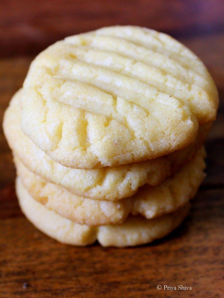 Nankhatai – Indian Eggless Cookies