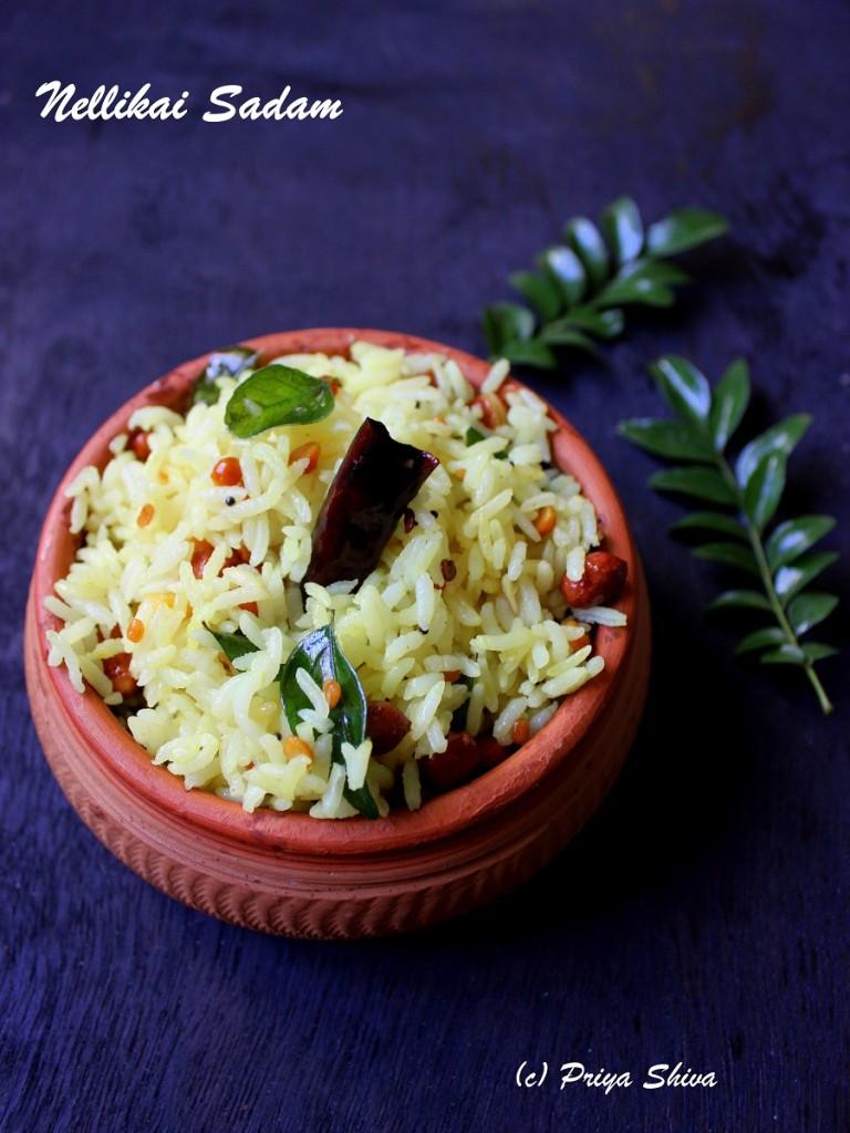 Nellikai Sadam – Gooseberry Flavored Rice