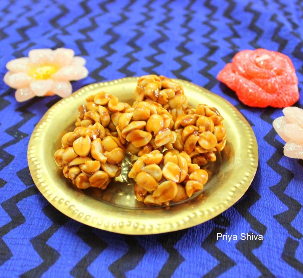 Kadalai Urundai / Peanut Jaggery Balls
