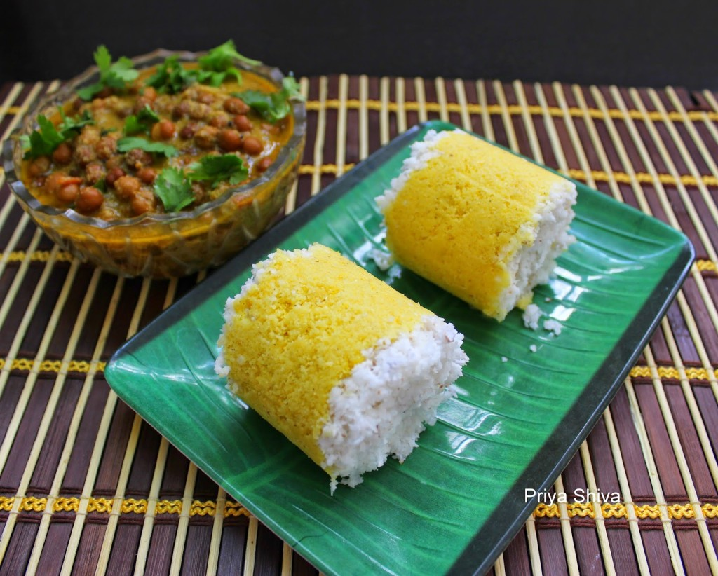 Corn Puttu Recipe