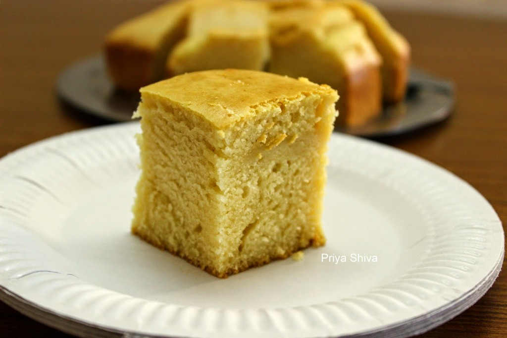 Vanilla sponge cake, cake, baking, eggless, recipe