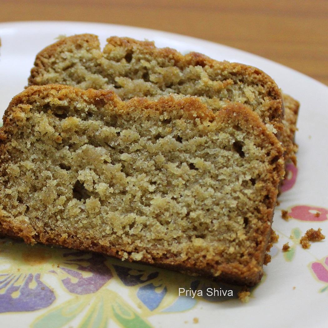Eggless whole wheat banana bread banana bread wheat bread forumfinder Gallery