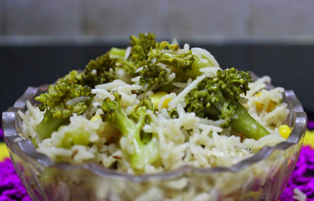 Broccoli Rice Recipe – Broccoli Pulao