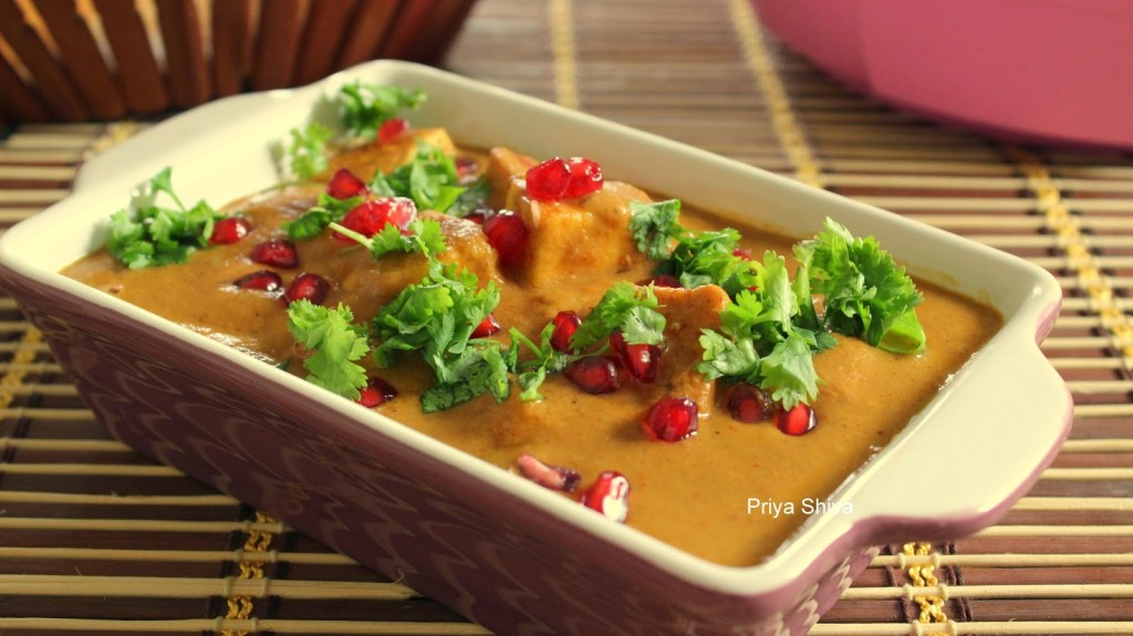 recipe, paneer, Indian Curry