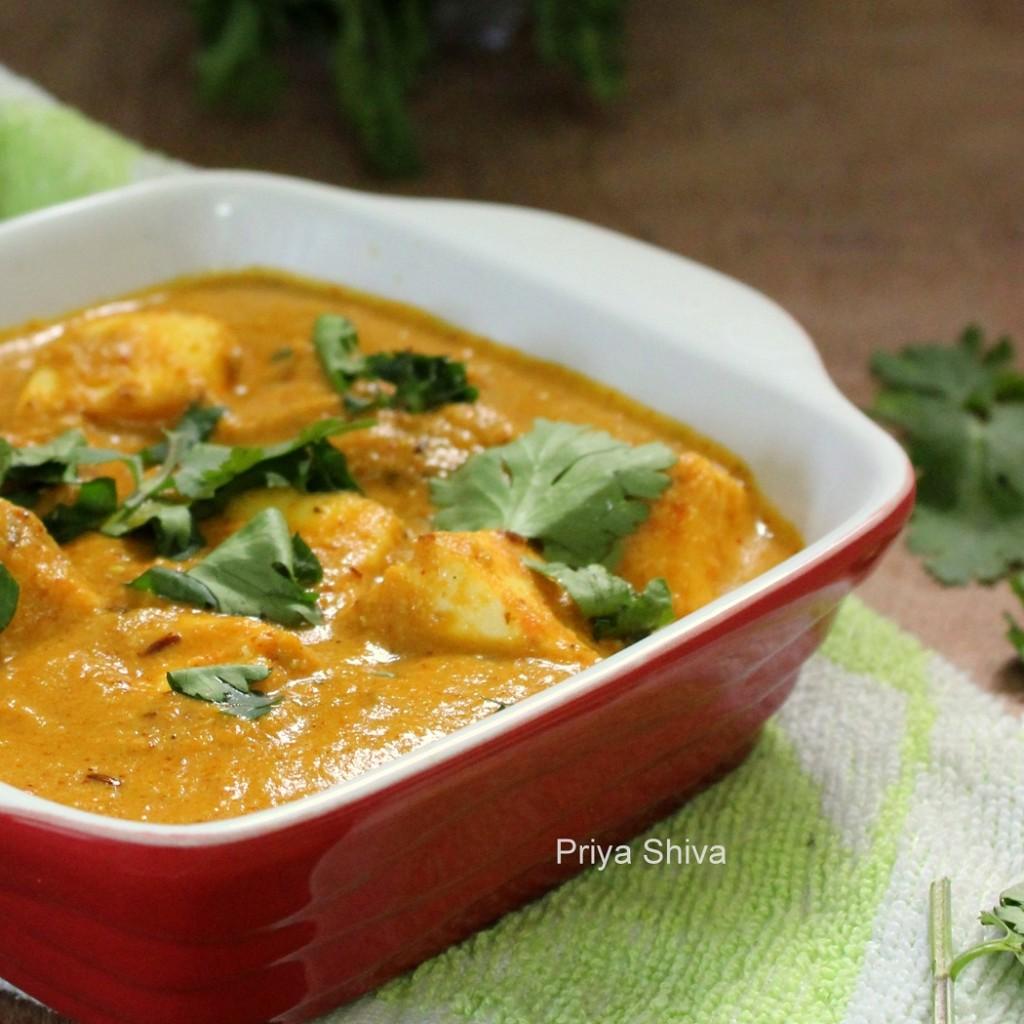 Paneer Pista Curry