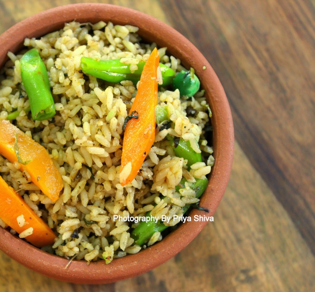 Chettinad Vegetable Biryani / Review of Ramajeyam Seeraga Samba Rice