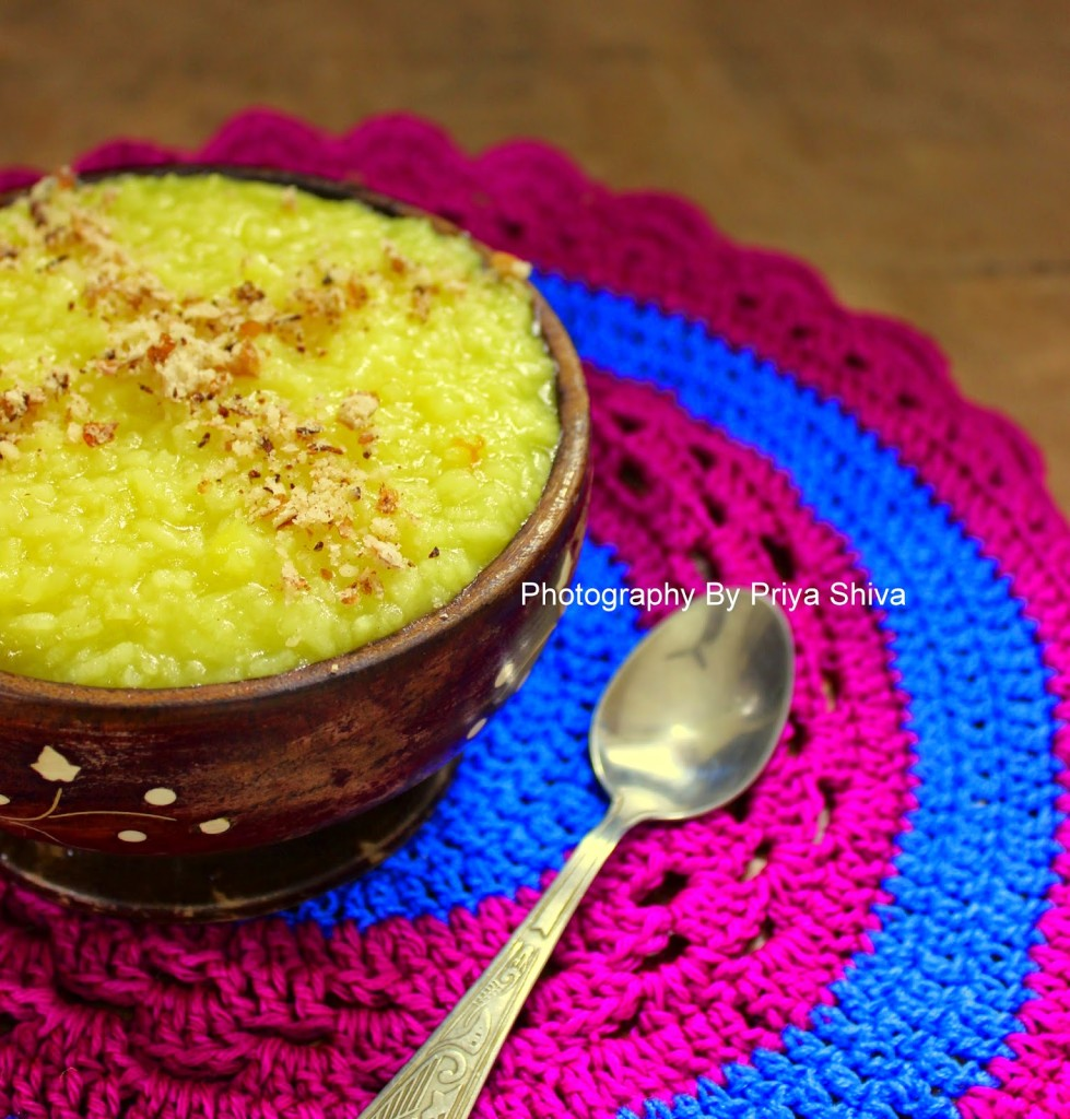 Sholeh Zard / Persian Saffron Rice Pudding