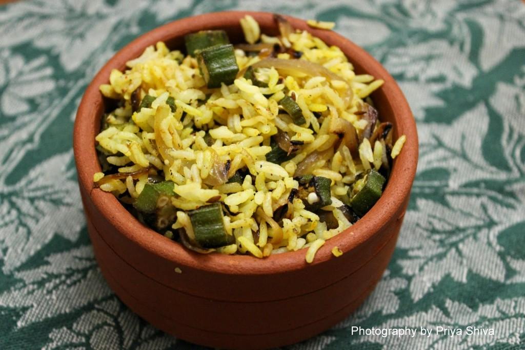 Seeraga Samba Rice – Chettinad Vendakkai Sadam