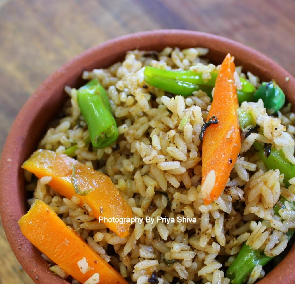 Seeraga Samba Biryani, biryani, rice, glutenfree, recipe