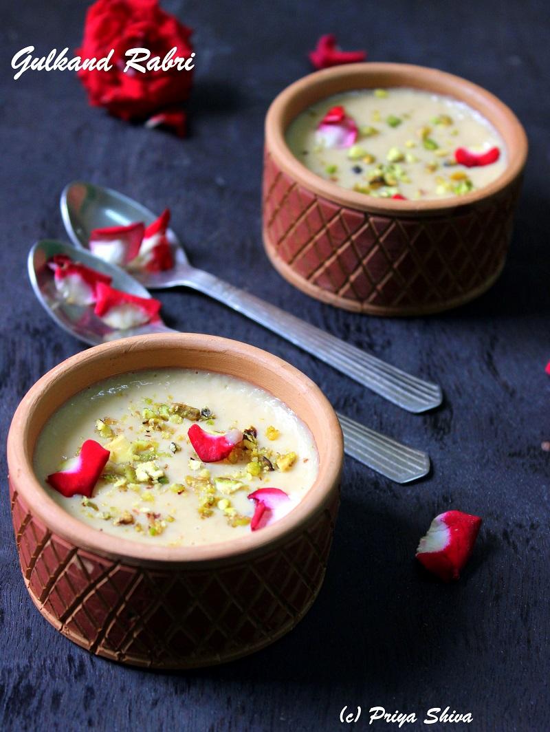 Gulkand Rabdi recipe
