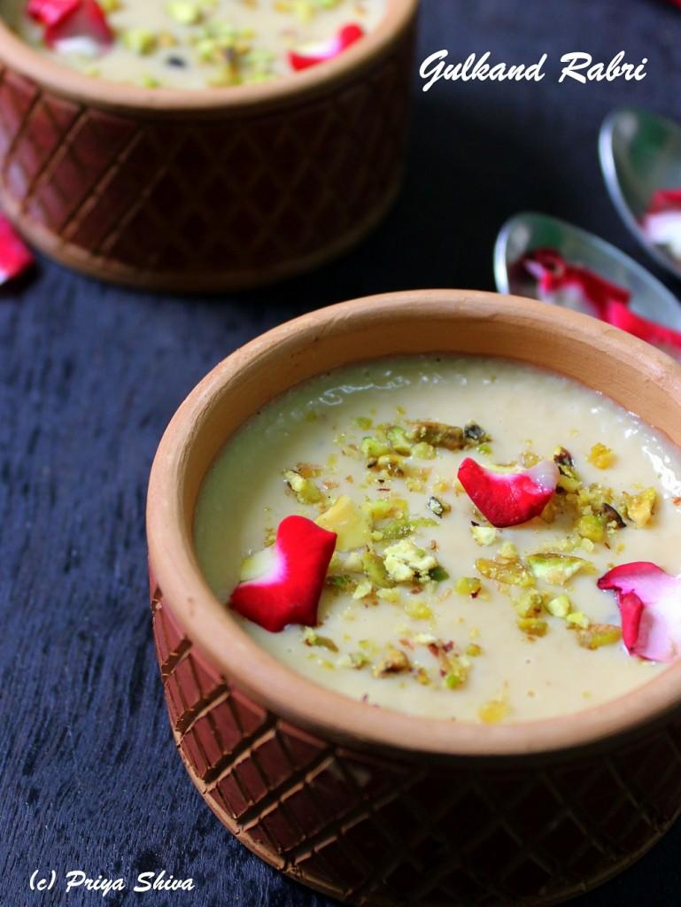 Gulkand Rabri Recipe