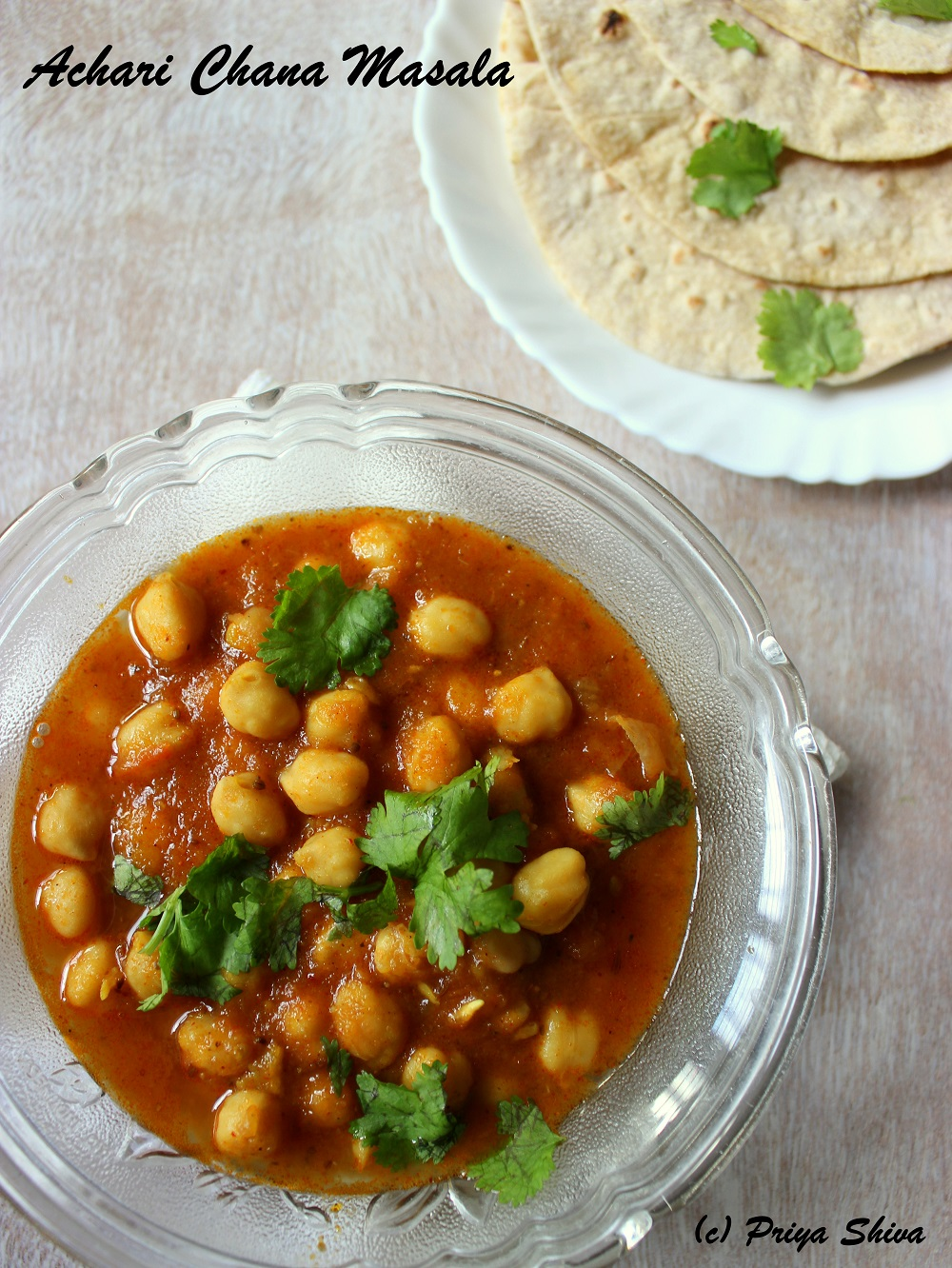 Achari chana masala spicy chickpeas curry forumfinder Image collections