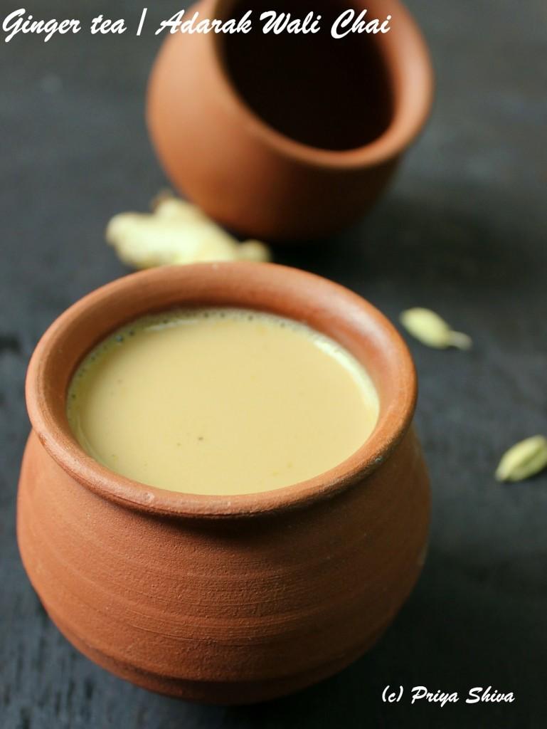 Ginger Tea / Adarak Wali Chai