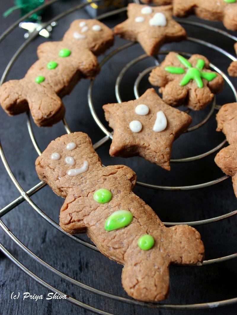 nutella gingermen cookies