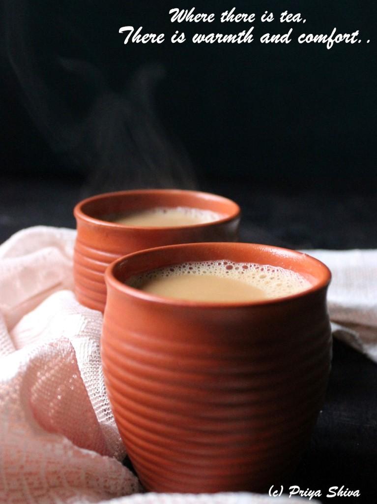 cardamom jaggery tea