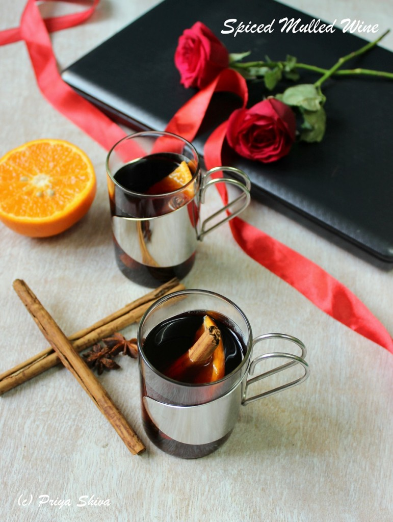 Spiced Mulled Wine – My Valentine's Day Story