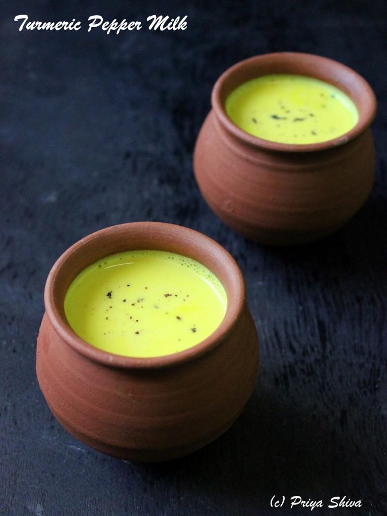 Manjal Milagu Paal – Turmeric Pepper Milk