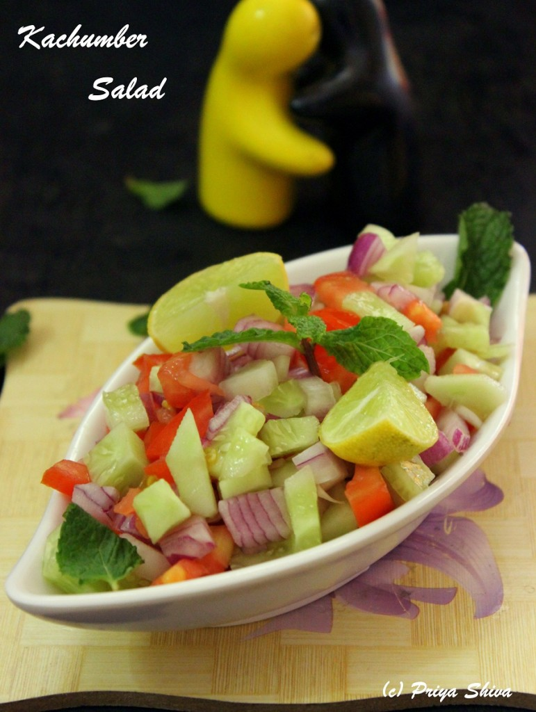 Kachumber Salad – Vegetable Salad Recipe