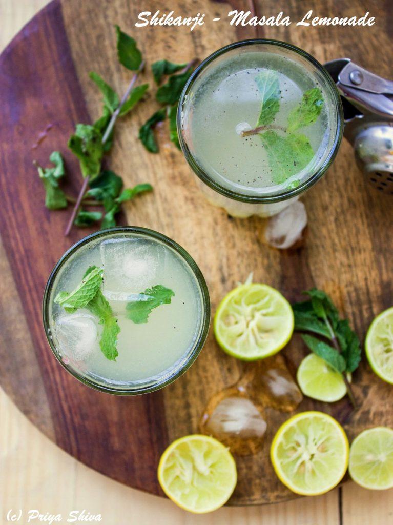 Shikanji – Indian Masala Lemonade