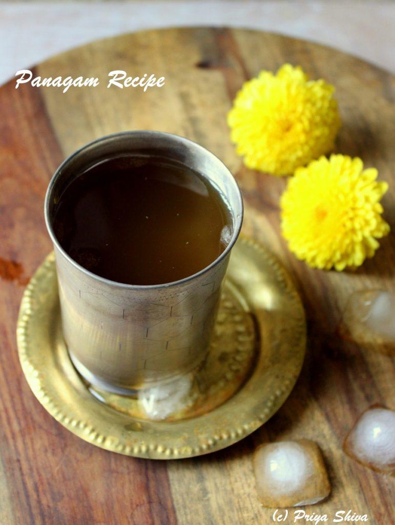 Panakam / Panagam Recipe