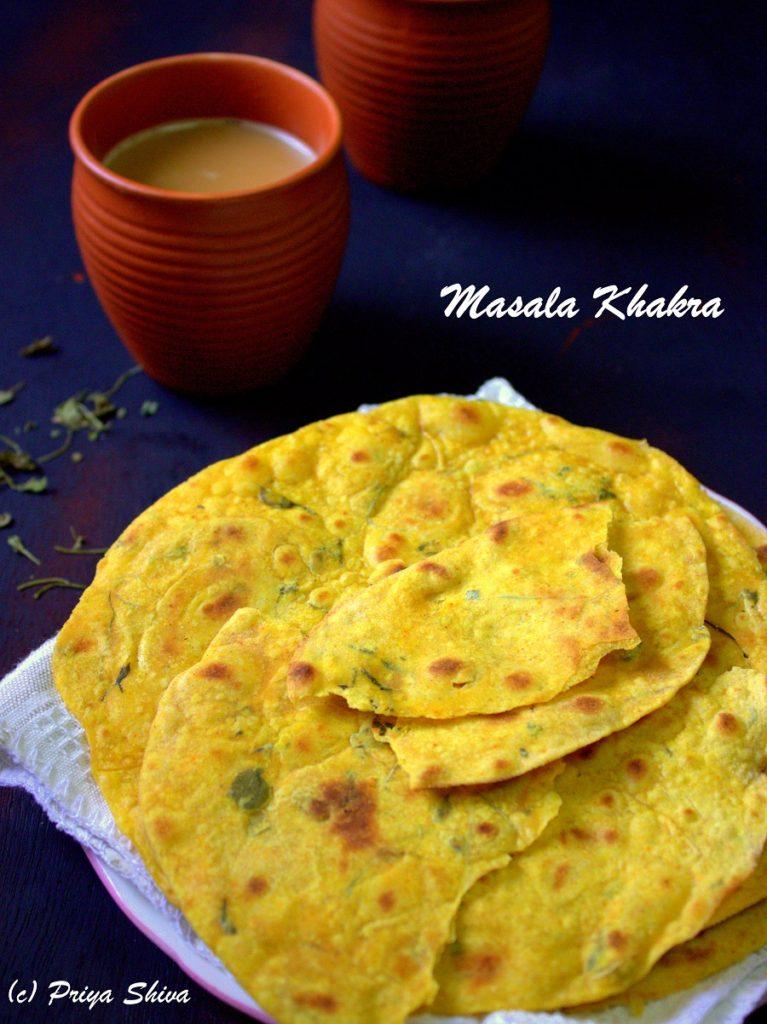 Methi Masala Khakra Recipe