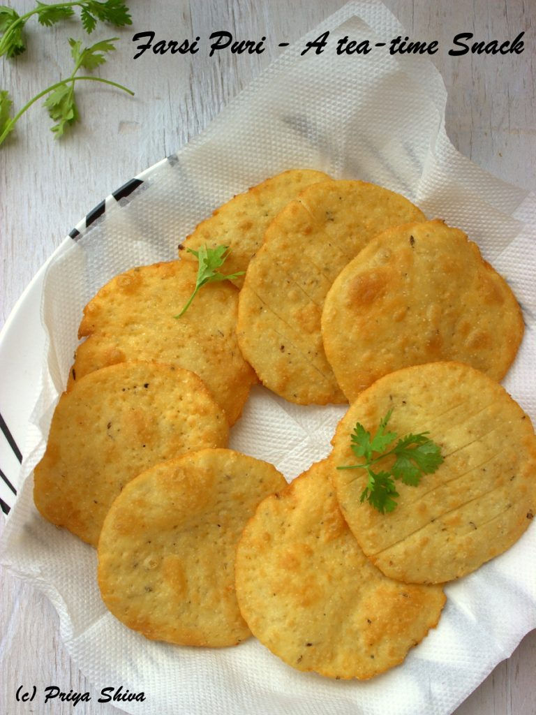 Farsi Puri Recipe – Fortune Vivo Oil Review
